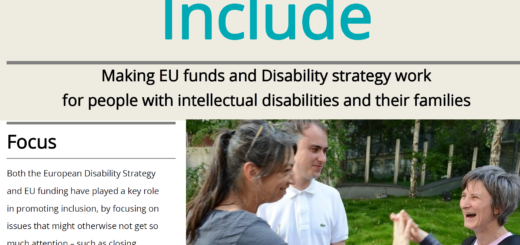 cover of the Include newsletter